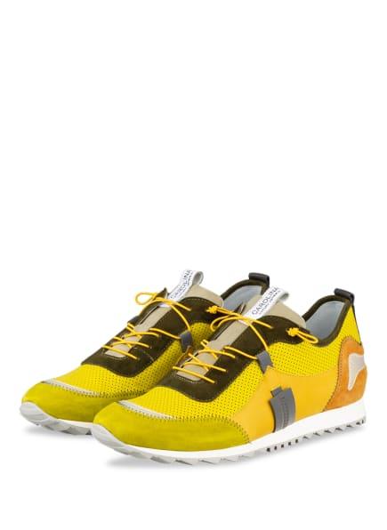 DONNA CAROLINA Sneaker , Farbe: DUNKELGELB/ KHAKI/ HELLGRÜN (Bild 1)