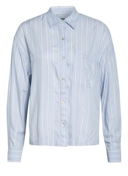 Marc O'Polo Schlafshirt, Farbe: HELLBLAU/ WEISS (Bild 1)