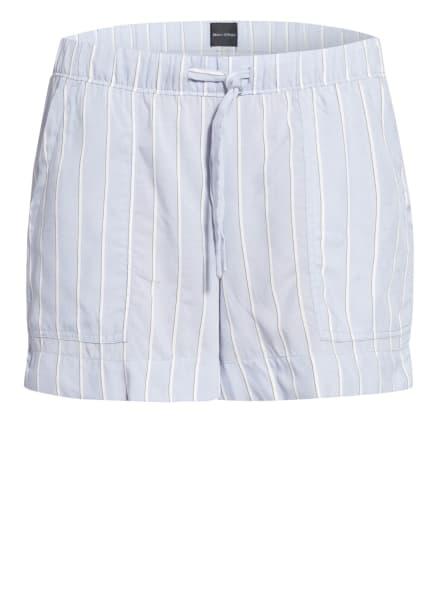 Marc O'Polo Lounge-Shorts, Farbe: BLAUGRAU/ WEISS/ SCHWARZ (Bild 1)