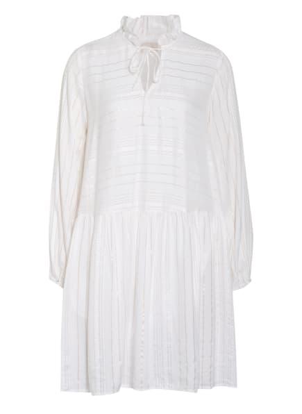Mrs & HUGS Kleid mit Glitzergarn , Farbe: WEISS/ GOLD (Bild 1)
