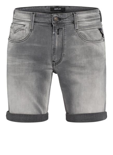 REPLAY Jeans-Shorts NEW ANBASS Regular Fit, Farbe: 096 MEDIUM GREY (Bild 1)