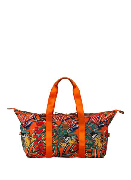 BRIC'S Weekender X-BAG , Farbe: GRÜN/ DUNKELGELB/ ORANGE (Bild 1)