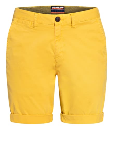 Superdry Chino-Shorts , Farbe: GELB (Bild 1)