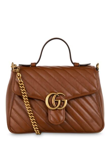 GUCCI Handtasche GG MARMONT, Farbe: 2535 CUIR/CUIR (Bild 1)