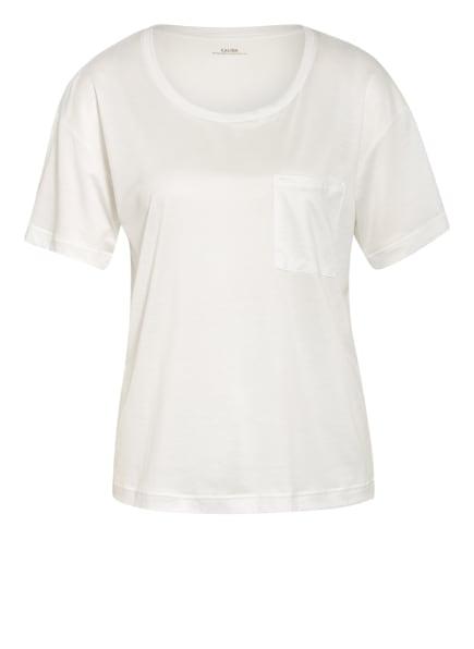 CALIDA Schlafshirt 100 % NATURE , Farbe: CREME/ WEISS (Bild 1)