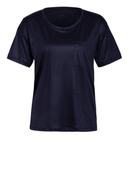 CALIDA Schlafshirt 100 % NATURE , Farbe: DUNKELBLAU (Bild 1)