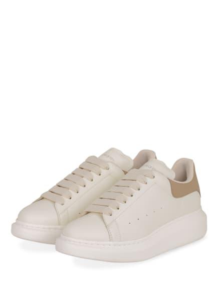 Alexander McQUEEN Plateau-Sneaker, Farbe: WEISS/ TAUPE (Bild 1)