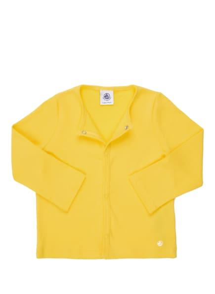 PETIT BATEAU Jerseyjacke, Farbe: GELB (Bild 1)
