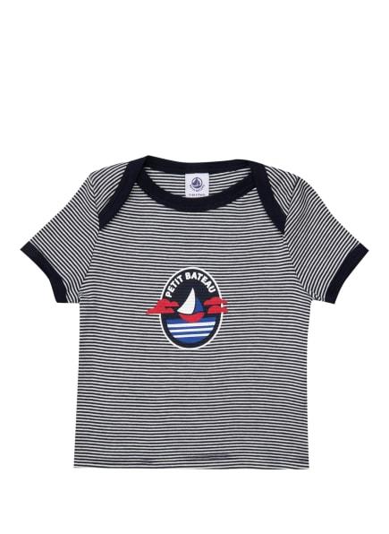 PETIT BATEAU T-Shirt, Farbe: DUNKELBLAU/ WEISS (Bild 1)
