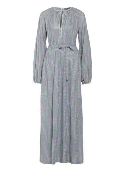 M MISSONI Kleid mit Glitzergarn, Farbe: LILA/ GRÜN/ SILBER (Bild 1)