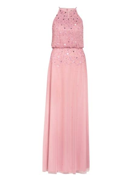 LAONA Abendkleid mit Schmucksteinen und Pailletten, Farbe: ALTROSA (Bild 1)