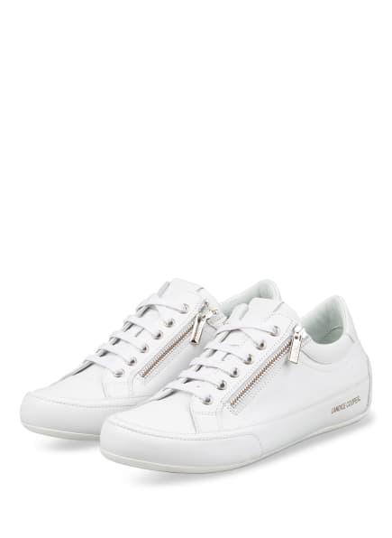 Candice Cooper Sneaker ROCK, Farbe: WEISS (Bild 1)