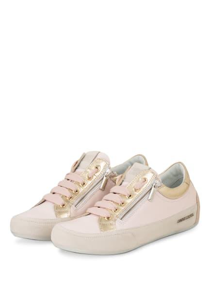 Candice Cooper Sneaker ROCK, Farbe: HELLROSA/ GOLD (Bild 1)