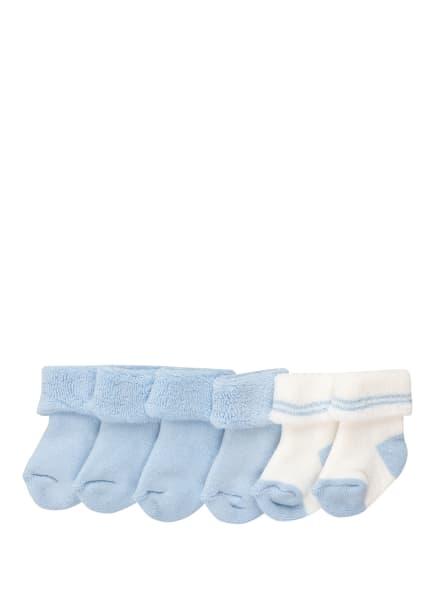 ewers COLLECTION 6er-Pack Socken , Farbe: 9006 9006 bleu/bleu/latte (Bild 1)