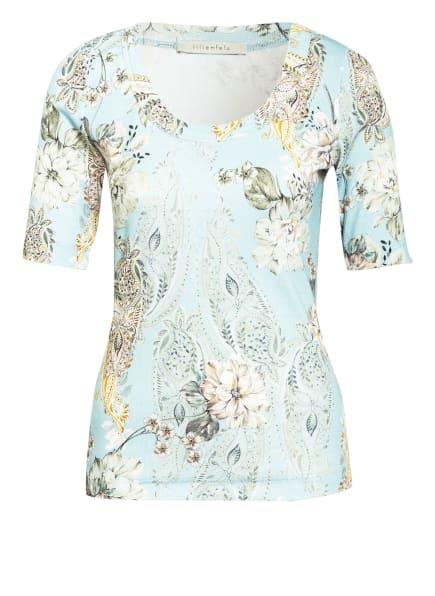 lilienfels T-Shirt, Farbe: HELLBLAU/ CREME/ GRÜN (Bild 1)