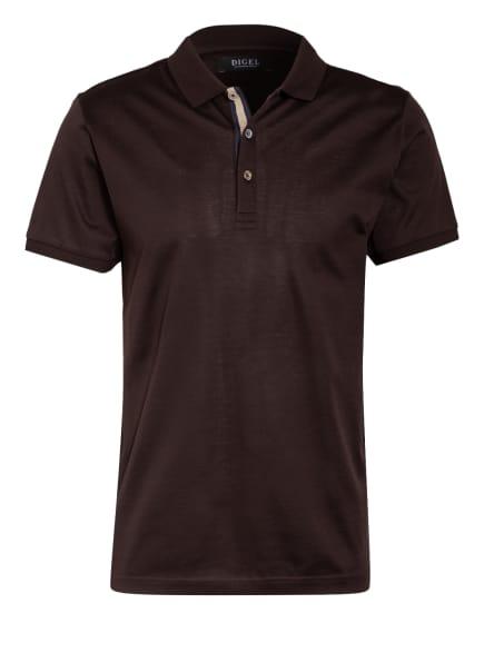 DIGEL Jersey-Poloshirt TASSO, Farbe: DUNKELBRAUN (Bild 1)