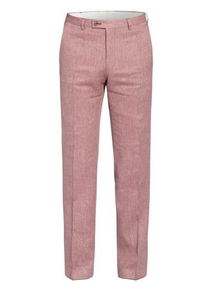 DIGEL Anzughose FRANCO Extra Slim Fit mit Leinen, Farbe: ROT (Bild 1)