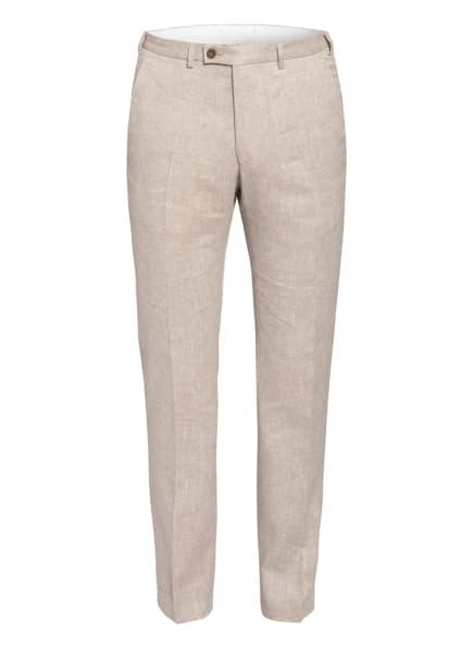 DIGEL Anzughose FRANCO Extra Slim Fit mit Leinen, Farbe: CREME (Bild 1)