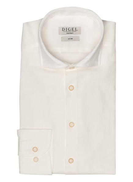 DIGEL Hemd KEITH Slim Fit mit Leinen, Farbe: WEISS (Bild 1)