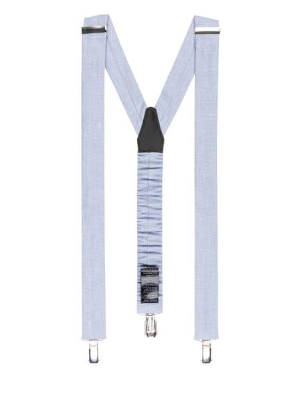 DIGEL Hosenträger LAC mit Leinen, Farbe: WEISS/ HELLBLAU (Bild 1)