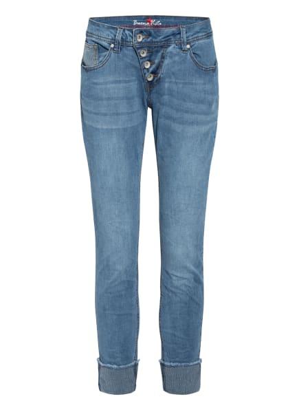 Buena Vista 7/8-Jeans MALIBU, Farbe: 2830 stripe denim (Bild 1)