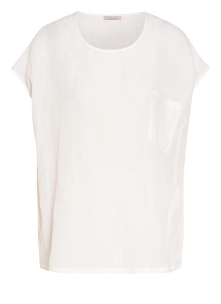 lilienfels T-Shirt mit Leinen, Farbe: WEISS (Bild 1)
