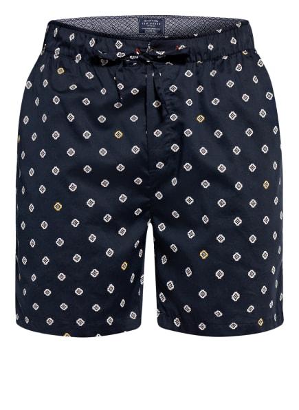 TED BAKER Lounge-Shorts, Farbe: DUNKELBLAU/ WEISS (Bild 1)