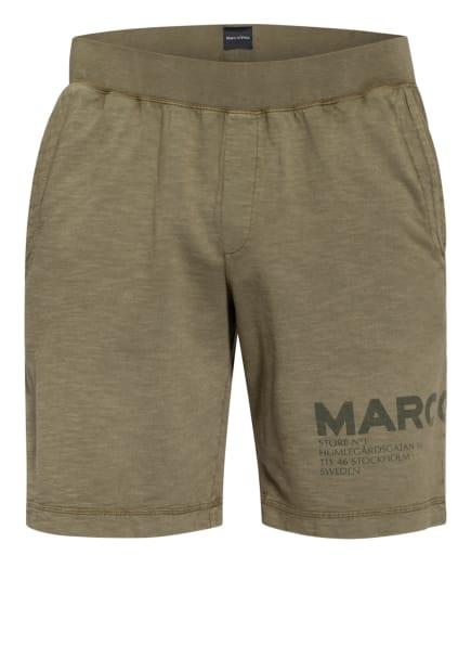 Marc O'Polo Lounge-Shorts, Farbe: OLIV/ KHAKI (Bild 1)
