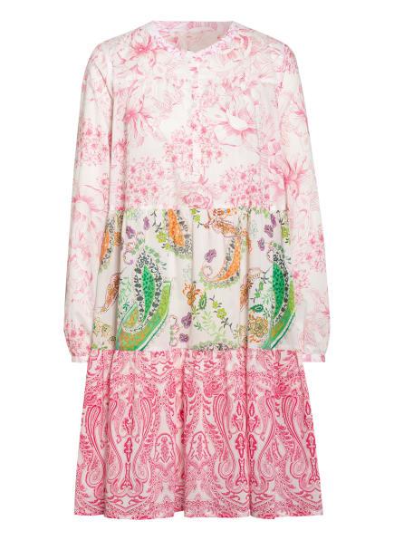 ROBERT FRIEDMAN Kleid ELVIRA , Farbe: PINK/ WEISS/ GRÜN (Bild 1)