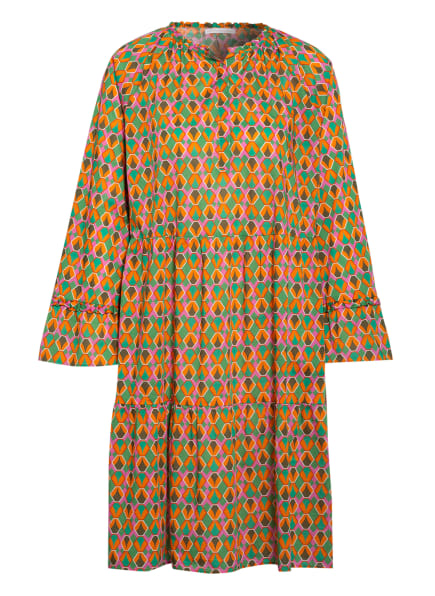 ROBERT FRIEDMAN Kleid BROOKE , Farbe: GRÜN/ ORANGE/ PINK (Bild 1)