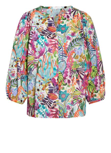 ROBERT FRIEDMAN Bluse ISA mit 3/4-Arm , Farbe: PINK/ HELLBLAU/ LILA (Bild 1)