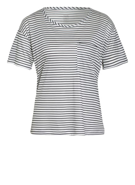 CALIDA Lounge-Shirt , Farbe: WEISS/ SCHWARZ (Bild 1)