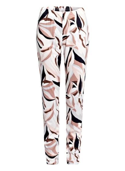 CALIDA Lounge-Hose , Farbe: WEISS/ ROSÉ/ SCHWARZ (Bild 1)