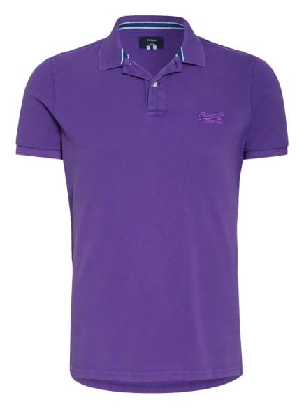 Superdry Piqué-Poloshirt, Farbe: LILA (Bild 1)