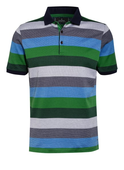 RAGMAN Poloshirt, Farbe: BLAU/ SCHWARZ/ GRÜN (Bild 1)