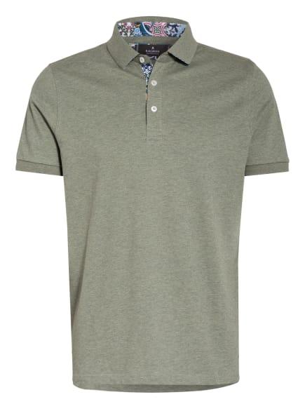 RAGMAN Piqué-Poloshirt, Farbe: KHAKI/ HELLGRÜN (Bild 1)