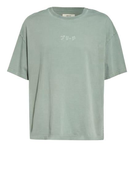 PREACH Oversized-Shirt, Farbe: OLIV/ WEISS/ SCHWARZ (Bild 1)