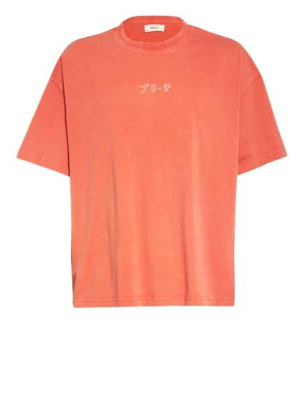 PREACH Oversized-Shirt, Farbe: LACHS/ SCHWARZ/ WEISS (Bild 1)