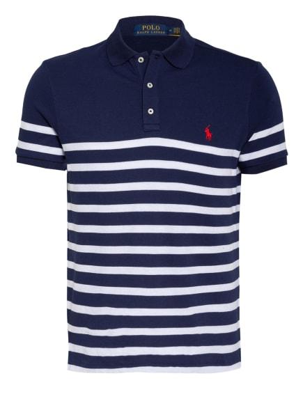 POLO RALPH LAUREN Jersey-Poloshirt, Farbe: DUNKELBLAU/ WEISS (Bild 1)