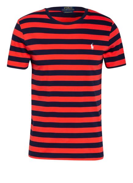 POLO RALPH LAUREN T-Shirt, Farbe: DUNKELBLAU/ ROT (Bild 1)