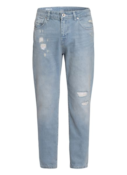 PAUL Destroyed Jeans LOUIS Tapered Fit , Farbe: LIGHTBLUE (Bild 1)