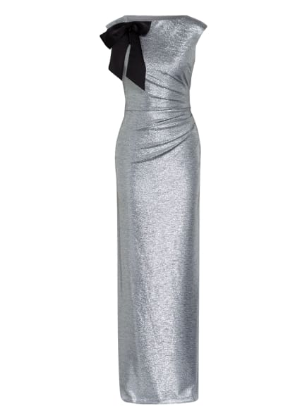 LAUREN RALPH LAUREN Abendkleid AVELINE, Farbe: SILBER (Bild 1)
