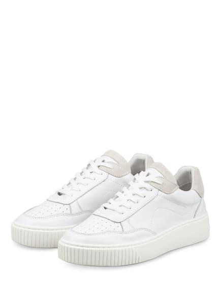 Mrs & HUGS Plateau-Sneaker, Farbe: WEISS/ CREME (Bild 1)