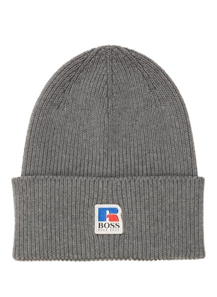 BOSS Mütze FUSSEL , Farbe: GRAU (Bild 1)