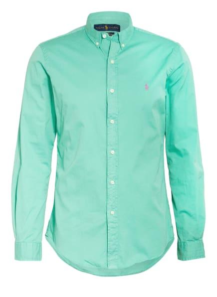 POLO RALPH LAUREN Hemd Slim Fit, Farbe: GRÜN (Bild 1)