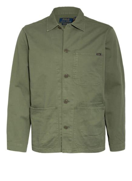 POLO RALPH LAUREN Overjacket, Farbe: OLIV (Bild 1)