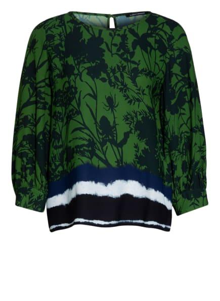 LUISA CERANO Bluse mit 3/4-Arm , Farbe: DUNKELGRÜN/ GRÜN (Bild 1)