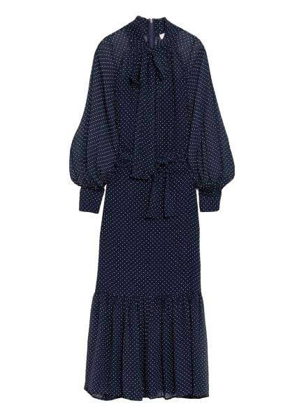 MICHAEL KORS Schluppenkleid, Farbe: DUNKELBLAU/ WEISS (Bild 1)