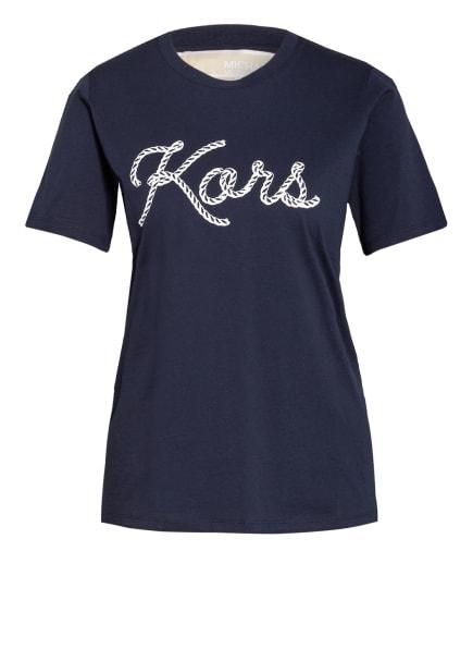 MICHAEL KORS T-Shirt, Farbe: DUNKELBLAU/ WEISS (Bild 1)