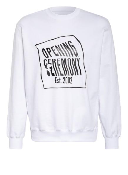 OPENING CEREMONY Sweatshirt, Farbe: WEISS/ SCHWARZ (Bild 1)